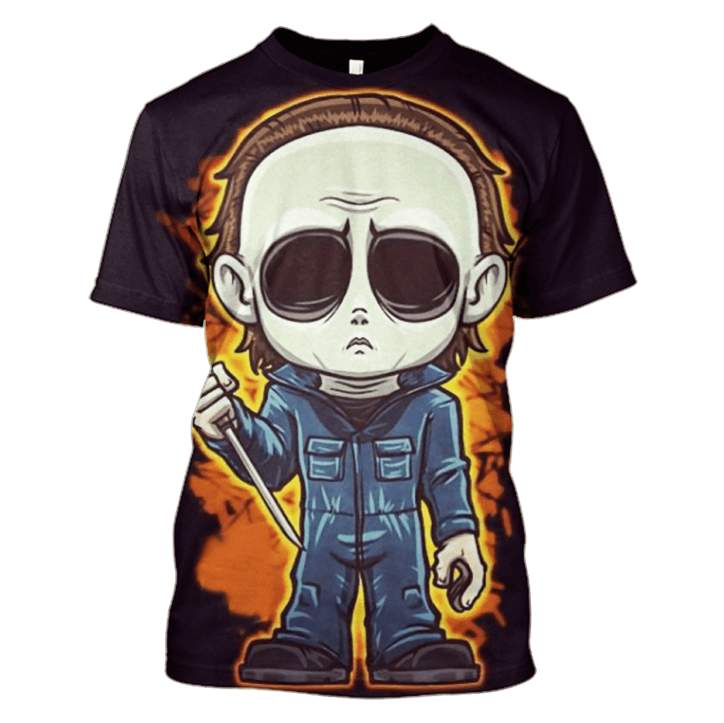 Halloween The Chibi of Michael Myers Hoodies - Tshirt Apparel