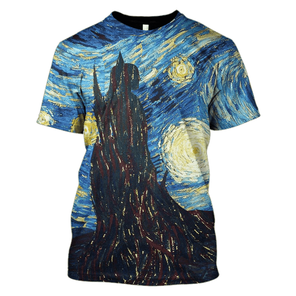 Vincent Van Gogh Starry Night Hoodies - T-Shirts - Zip Hoodies Apparel