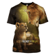 Gearhuman 3D  Lion Father and Son  Hoodies - Tshirt Apparel