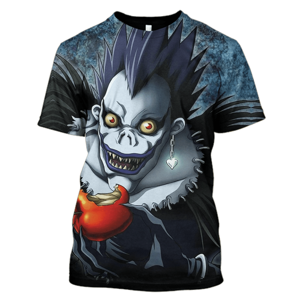 Death Note T-Shirts - Zip Hoodies Apparel