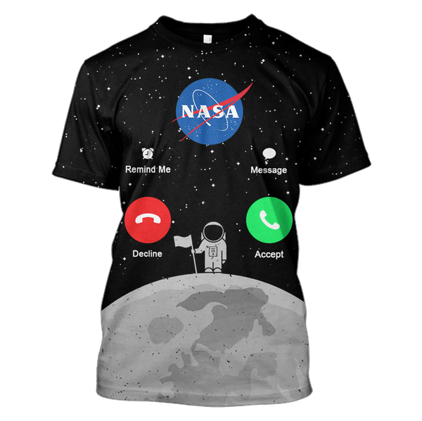 d51d118af 3D Nasa is calling for astronaut Full-Print T-shirt - Hoodie – Gearhuman