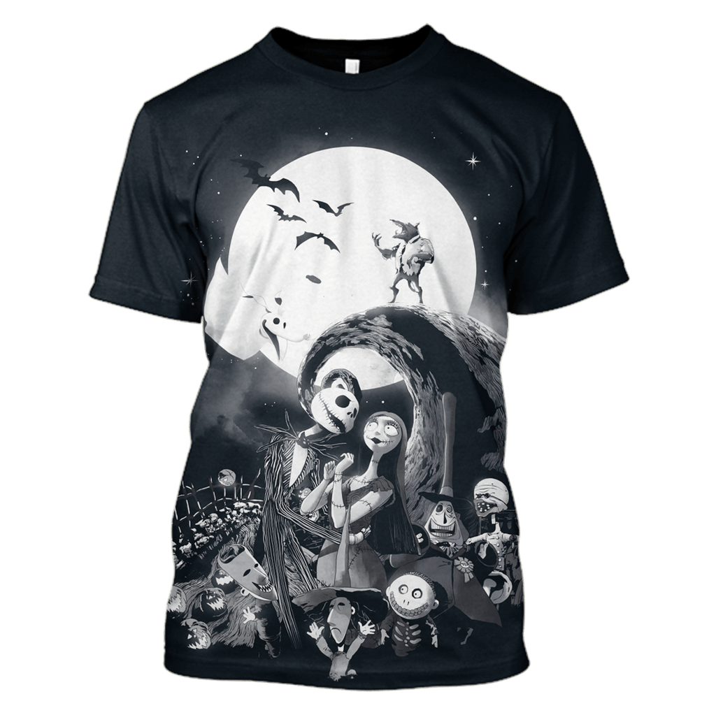 Nightmare before Christmas Hoodies - T-Shirts Apparel