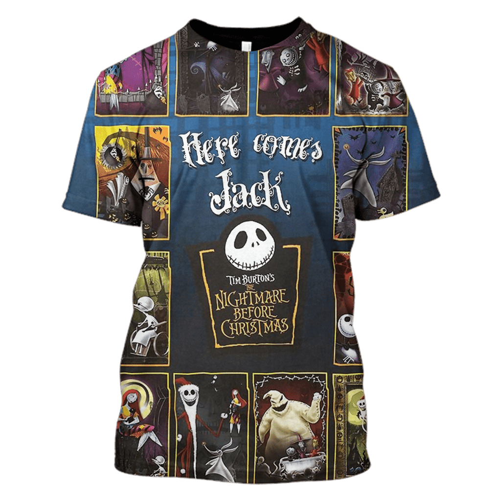 Tim Burton's The Nightmare Before Christmas Hoodies - Tshirt Apparel