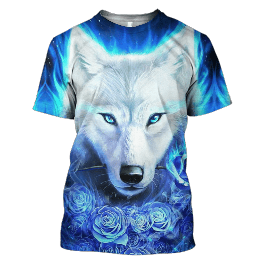 Wolf Hoodies - T-Shirt Apparel