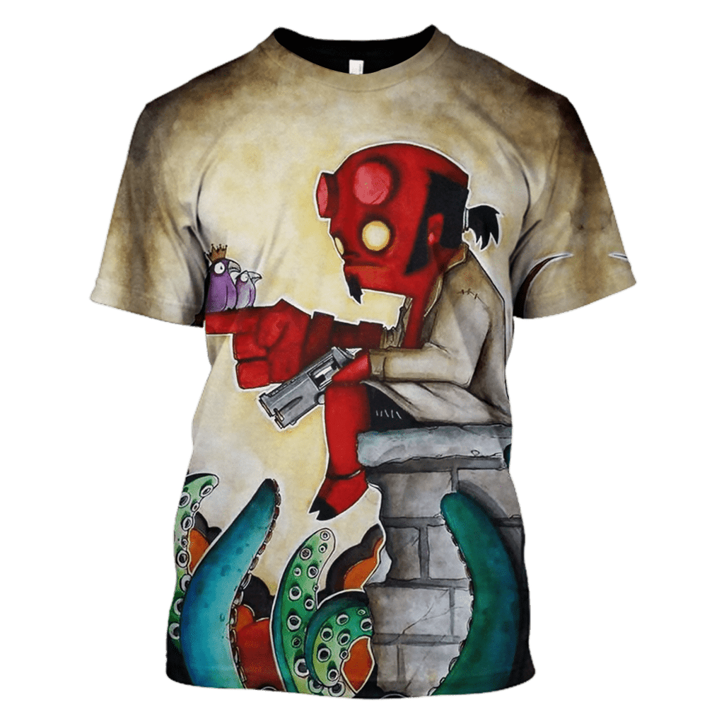 The HellBoy Hoodies - Tshirt Apparel