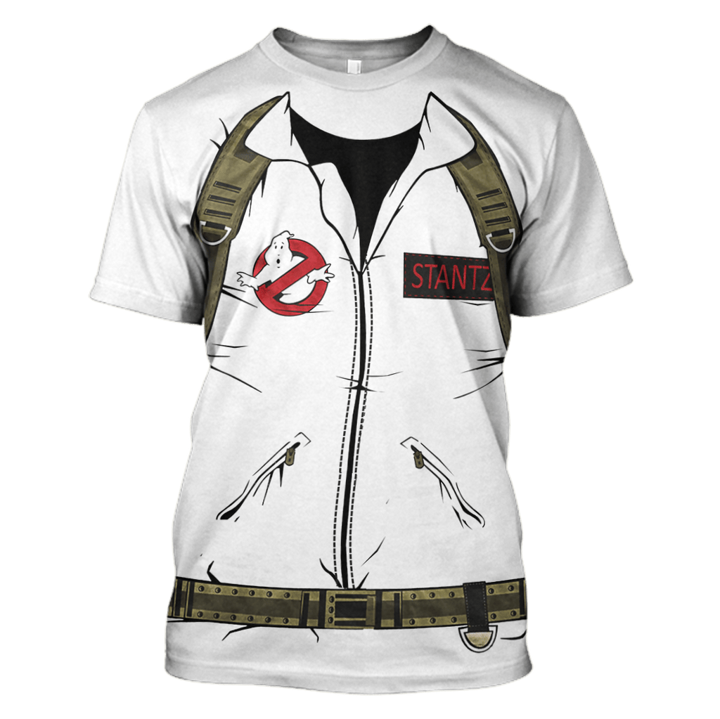 Ghostbusters Tshirt - Zip Hoodies Apparel