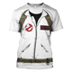 Gearhuman 3D Ghostbusters   Tshirt - Zip Hoodies Apparel