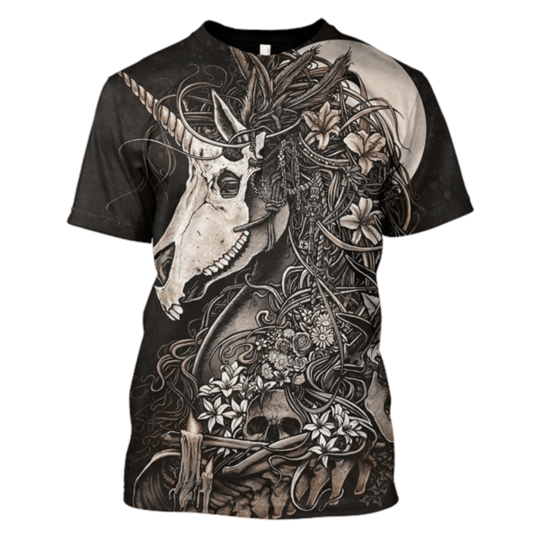 Unicorn Skull Hoodies - Tshirt Apparel