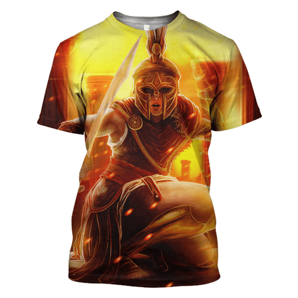 ASSASSIN'S CREED ODYSSEY T-Shirts - Zip Hoodies Apparel