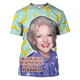Gearhuman 3D BETTY WHITE Tshirt - Zip Hoodies Apparel
