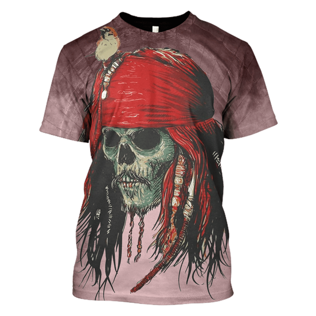 Pirates of the Caribbean Hoodies - Tshirt Apparel