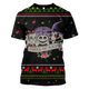 Gearhuman 3D Nightmare Before Christmas: Lock Shock And Barrel Custom T-shirt - Hoodies Apparel