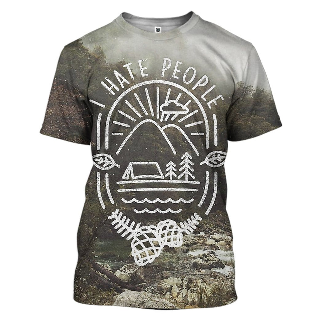 Custom T-shirt - Hoodies I Hate People Apparel