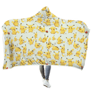 3D  POKEMON PIKACHU Full-Print Hooded Blanket