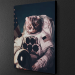 Cat Astronaut Canvas