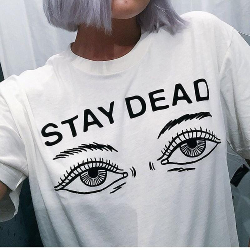 Stay Dead Neck T-shirt