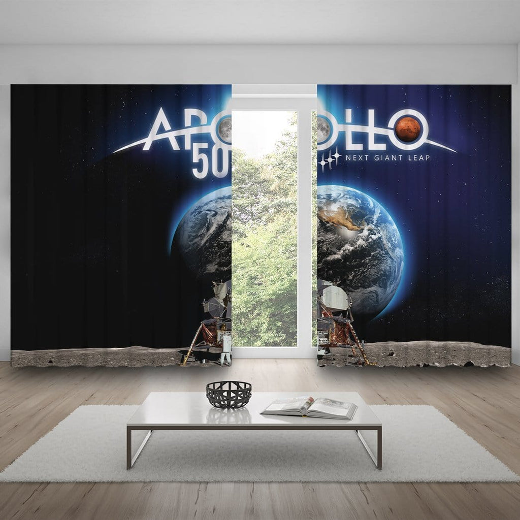 Custom Curtain Apollo 50 Next Giant Leap