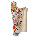 3D Winnie The Pooh And Friends Full-Print Hooded Blanket