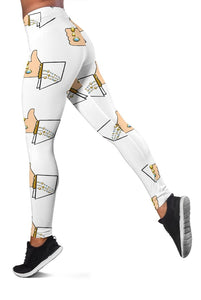 3D Elvis - Like Full-print Leggings