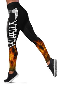 3D VIKINGS VALHALLA Full-print Leggings