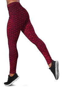 3D  FISH SCALES Full-print Leggings