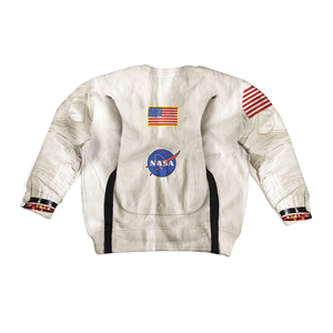 3D Armstrong Astronaut Kid Full-Print Hoodie T-shirt Apparel