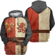 Gearhuman 3D Hoodie Heraldic Knight Suit Custom T-shirt - Hoodies Apparel