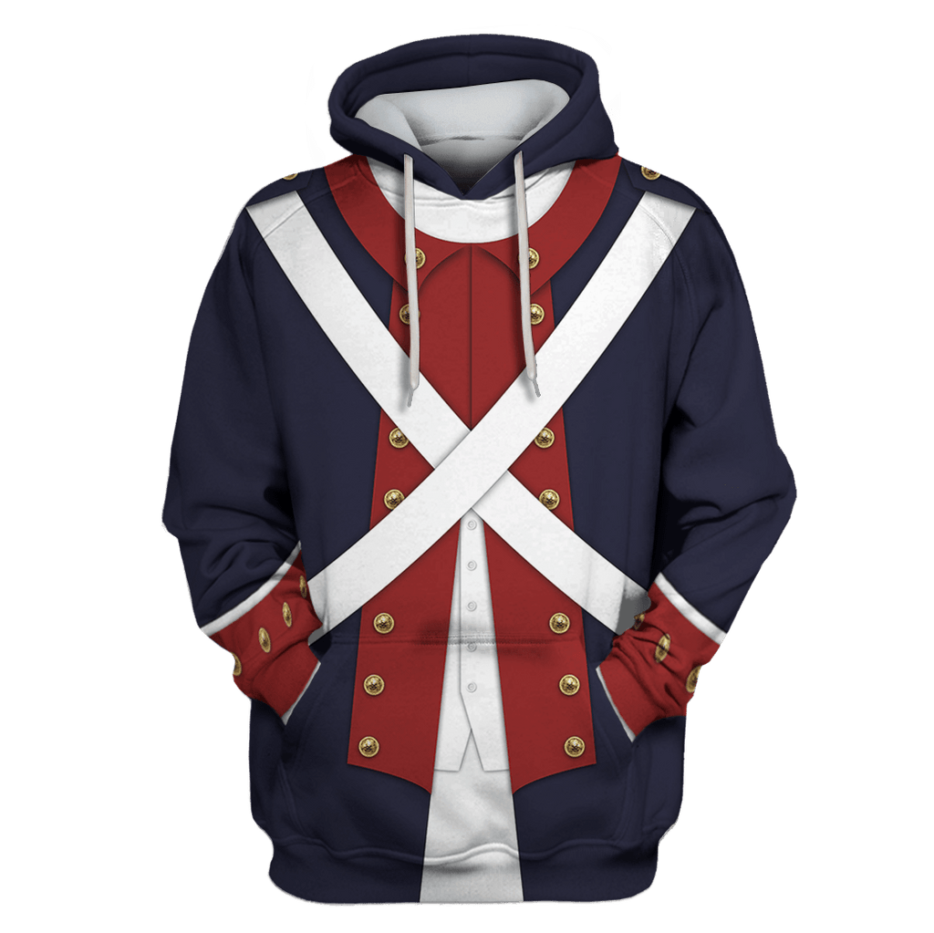 Hoodie Legion of the United States Custom T-shirt - Hoodies Apparel