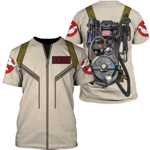 Gearhuman 3D Ghostbusters venkman hero  Custom T-shirt - Hoodies Apparel