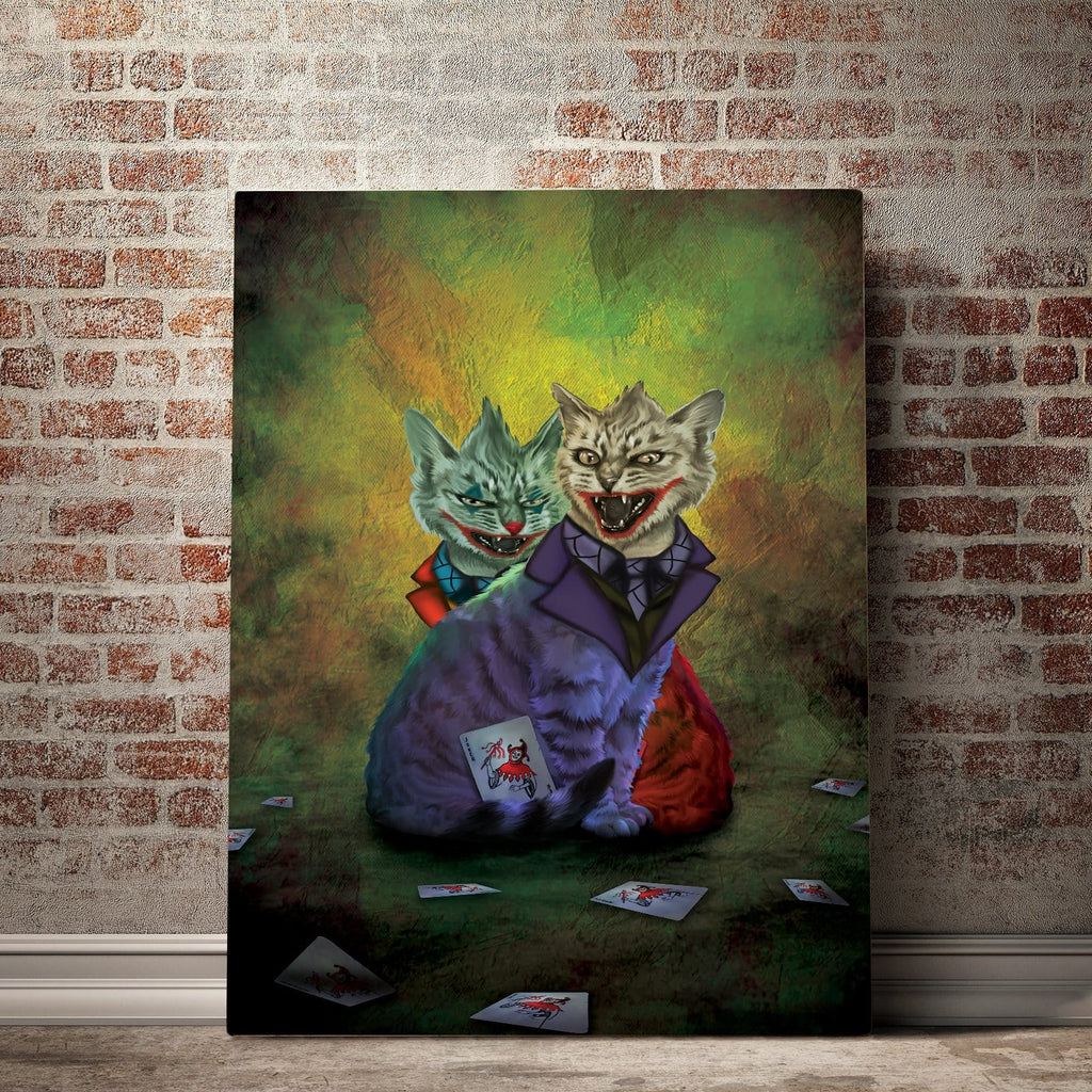 Gearhuman 3D Custom Canvas JK Cat