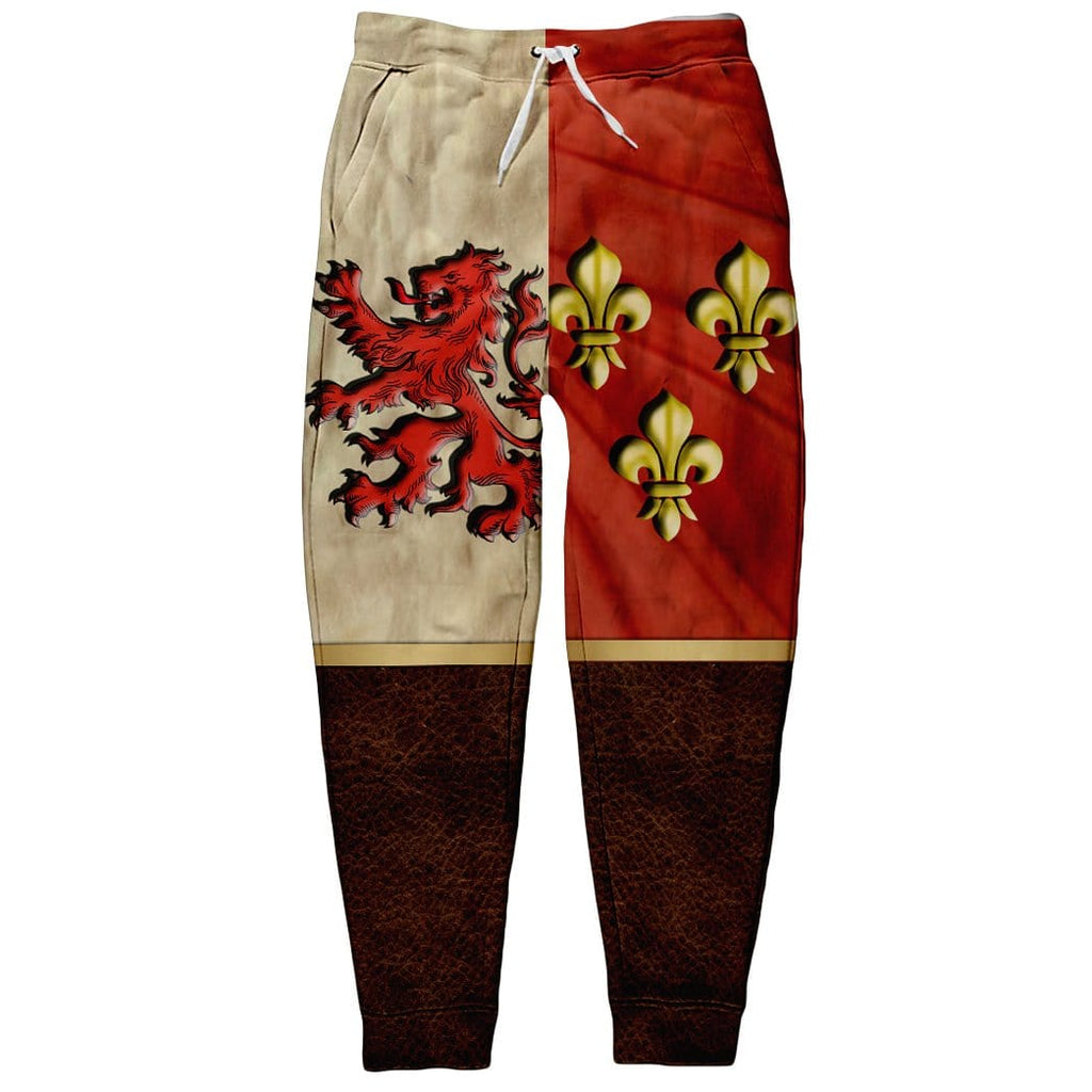 HERALDIC KNIGHT Full-print Sweatpants
