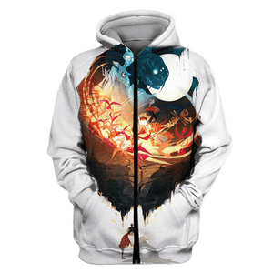 Gearhuman 3D Kubo and the Two Strings   Tshirt - Zip Hoodies Apparel