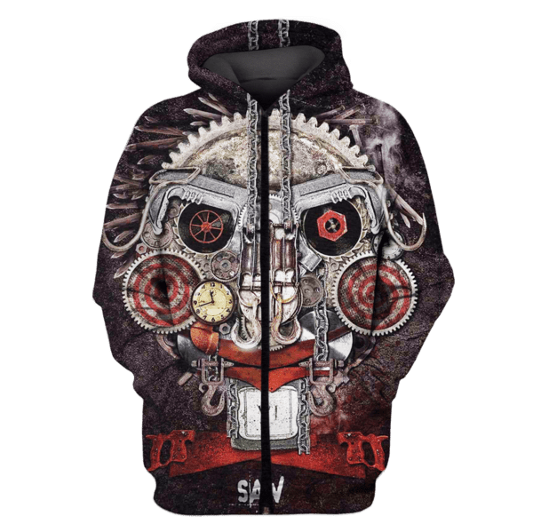 Saw T-Shirts - Zip Hoodies Apparel