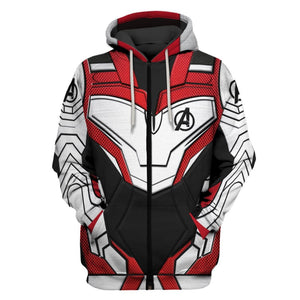 3D A New Suits Full-Print T-shirt - Hoodie