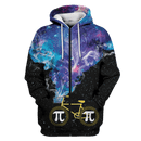 3D Galaxy Pi Bike Full-Print T-shirt - Hoodie