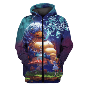 3D alice in wonder land  Tshirt - Zip Hoodie Apparel
