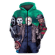 Gearhuman 3D Friday the 13th  Tshirt - Zip Hoodies Apparel