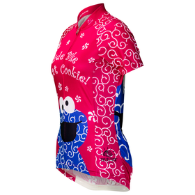 "Cookie Monster ""Pink"" Cycling Jersey (Women's)"