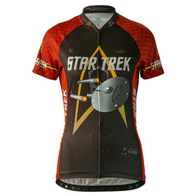 "Star Trek ""Engineering"" - Red - Cycling Jersey (Women's"