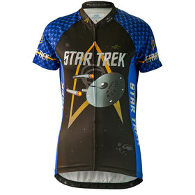 "Star Trek ""Science"" - Blue - Cycling Jersey (Women's)"