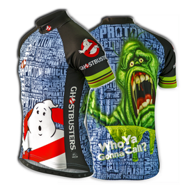 Ghostbusters Slimer Cycling Jersey (Women's)