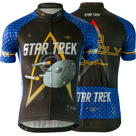 "Star Trek ""Science"" - Blue - Cycling Jersey (Men's)"