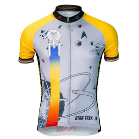 "Star Trek ""Final Frontier"" - Gold - Cycling Jersey (Men's)"