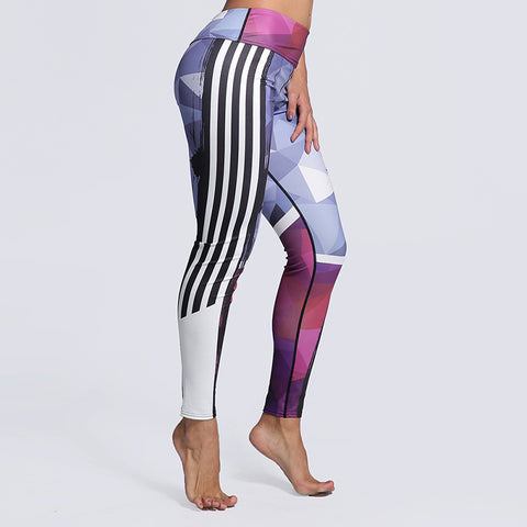 New Art Printed Sports Leggings