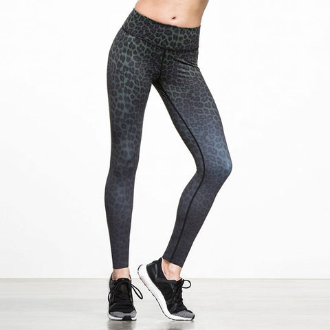 Leopard Print Yoga Tights