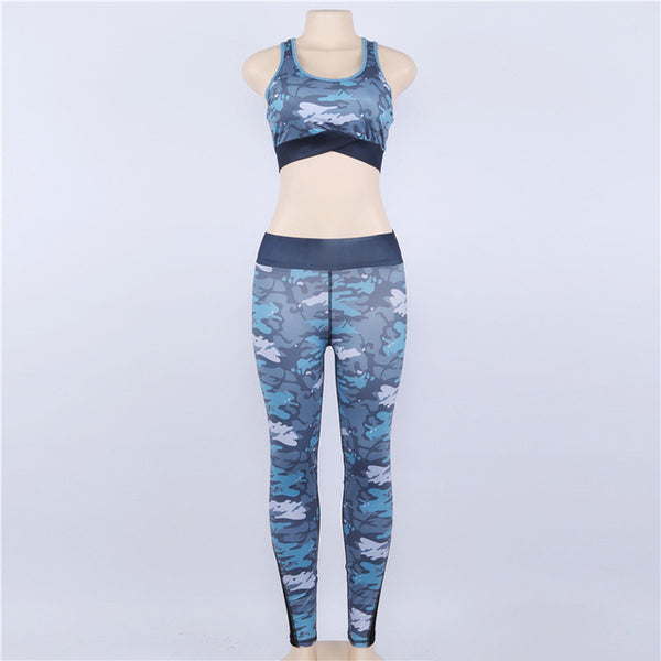 Camouflage Running Tracksuit
