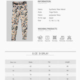 Women's Daisy Print Yoga Pants