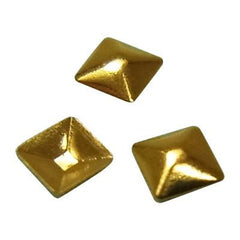 NLS Metal Studs Sharp Pyramid Gold (2mm) 50pcs
