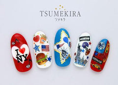 Tsumekira Sticker New York Colorful NN-NYK-101