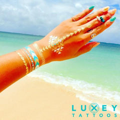 LUXEY TATTOOS BEACH01 LX-BCH-01